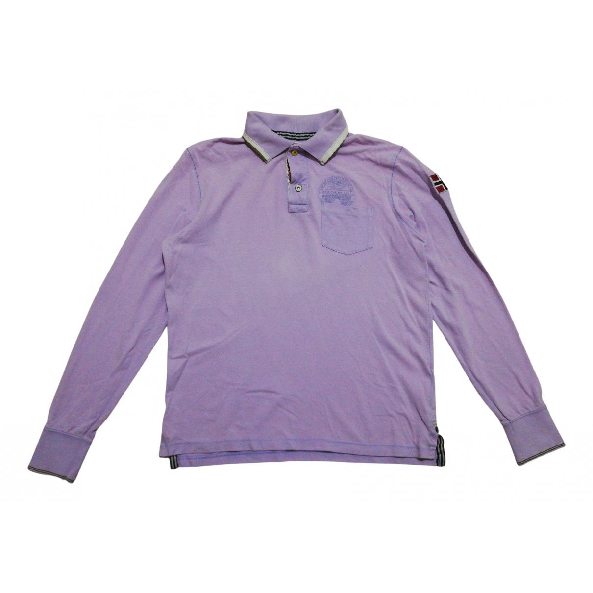 Napapijri \N Poloshirts in  Lila Baumwolle