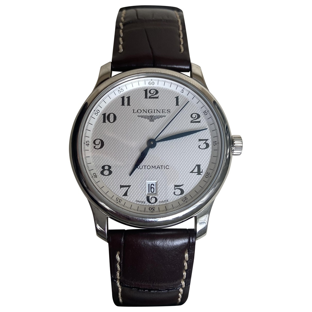 Longines Master Collection Uhr in  Silber Stahl