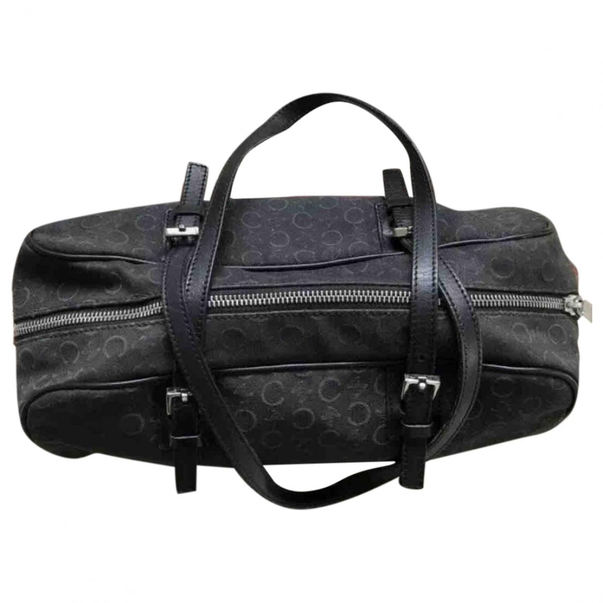 Celine \N Black Cotton handbag for Women \N