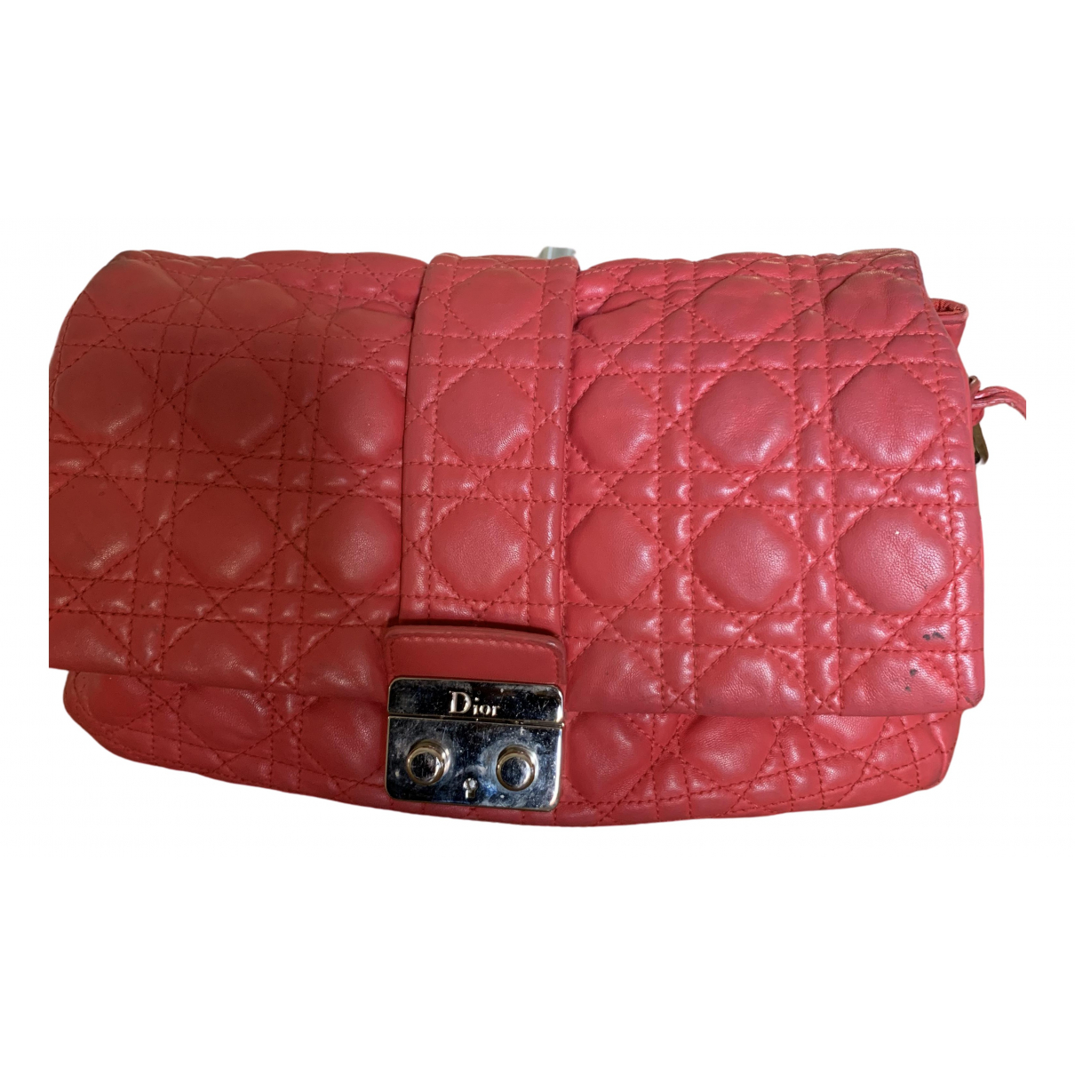 Dior Miss Dior Red Leather handbag for Women \N