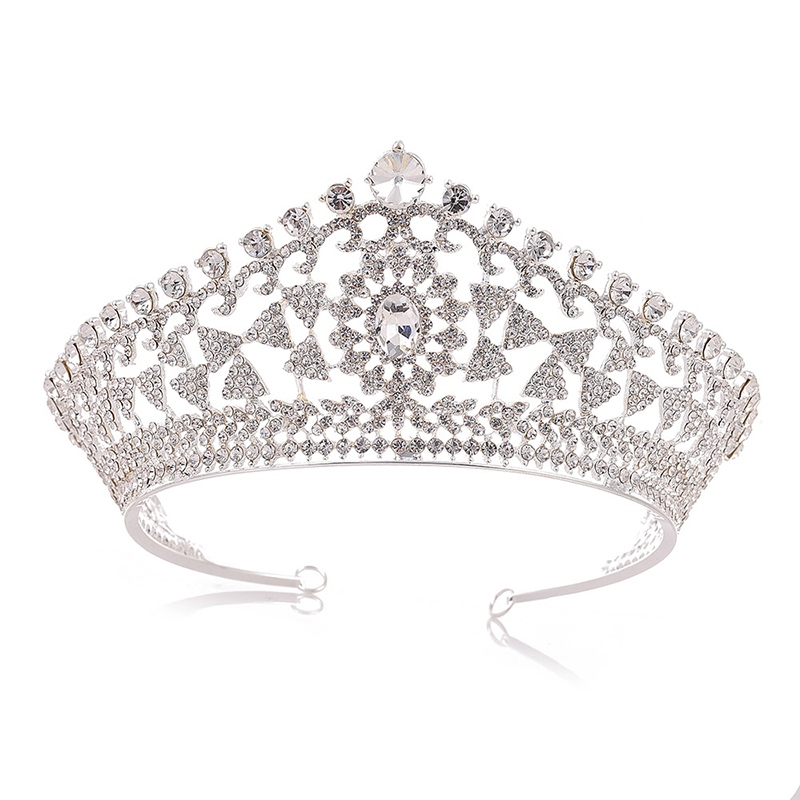 Crown Tiara European Hair Accessories (Wedding)