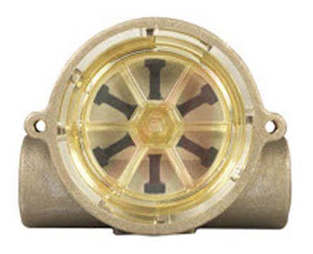 Gems Sensors RotorFlow Electronic Flow Sensor, 1.5 gal/min → 20 gal/min, RFS Series