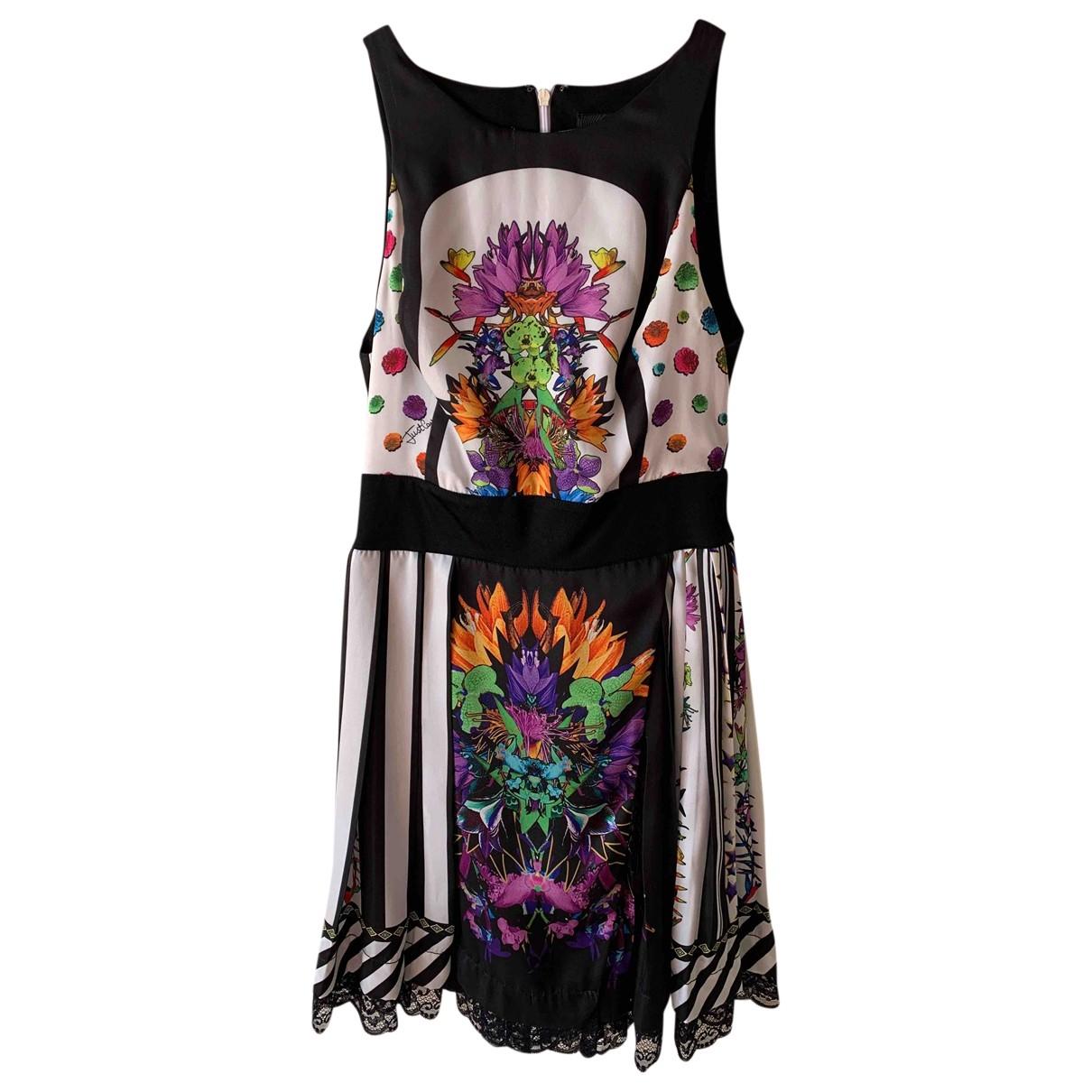 Mini vestido de Seda Roberto Cavalli