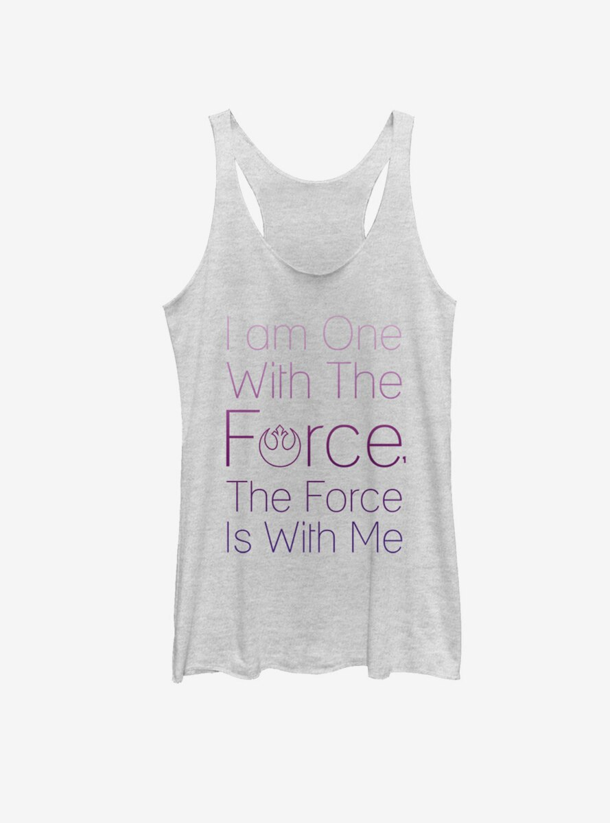 Star Wars Chirrut One with Force Womens Tank