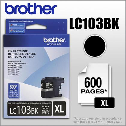 Brother MFC-J4610DW originale noire cartouche encre, haut rendement