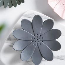 1 pieza jabonera en forma de flor