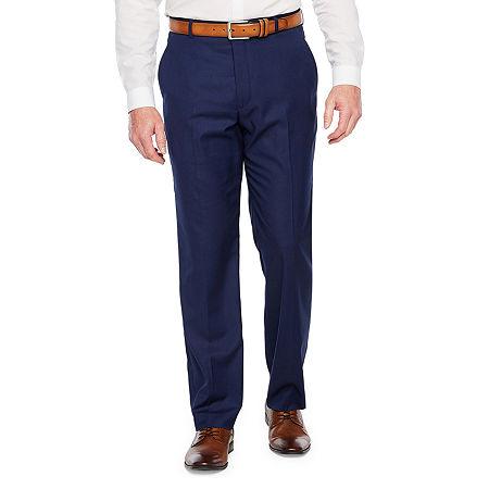 Stafford Mens Classic Fit, 34 30, Blue