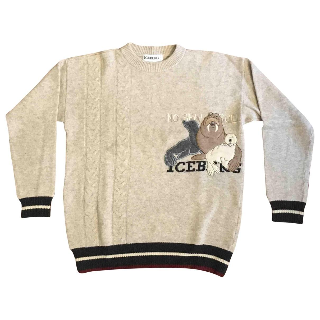Iceberg \N Beige Wool Knitwear for Women L International