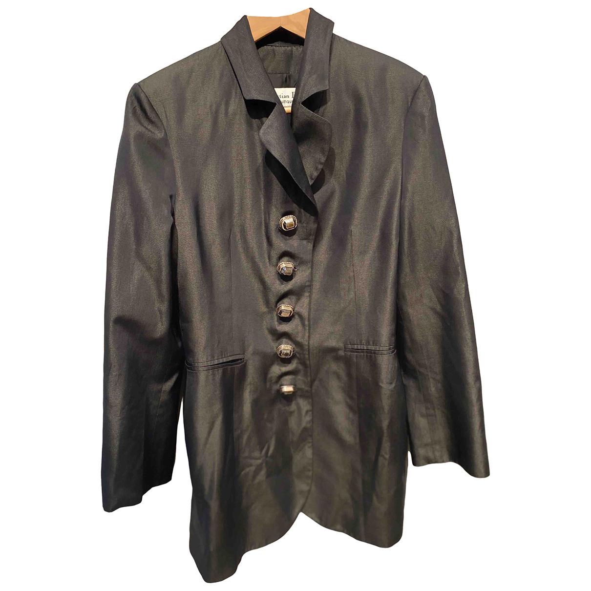Dior \N Grey Silk jacket for Women 40 FR