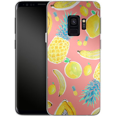 Samsung Galaxy S9 Silikon Handyhuelle - Fruit Love von Mukta Lata Barua