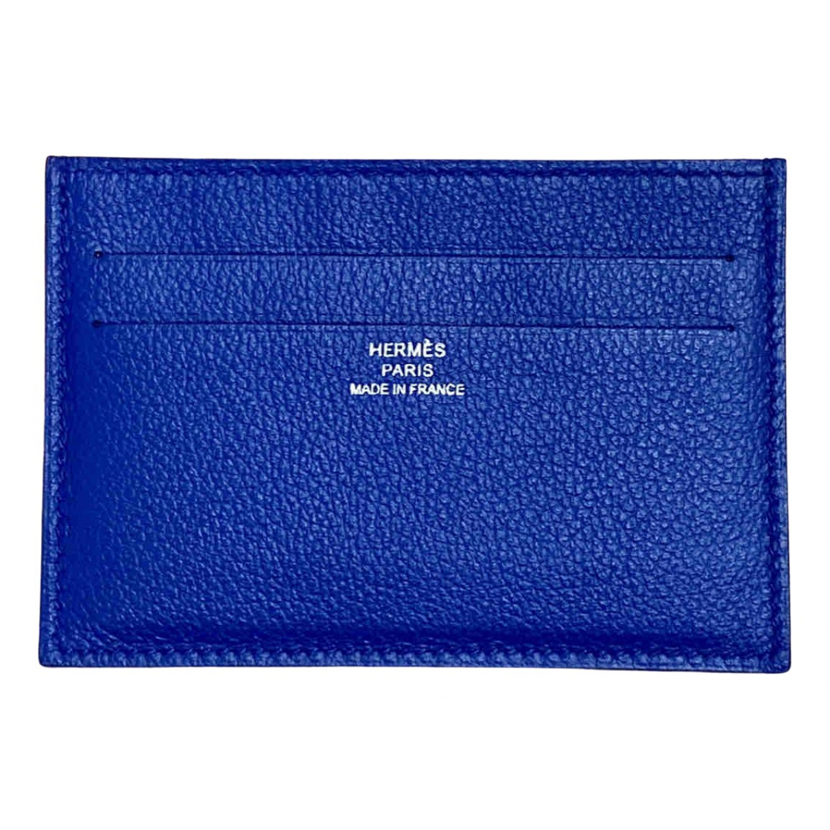Hermes \N Kleinlederwaren in  Blau Leder