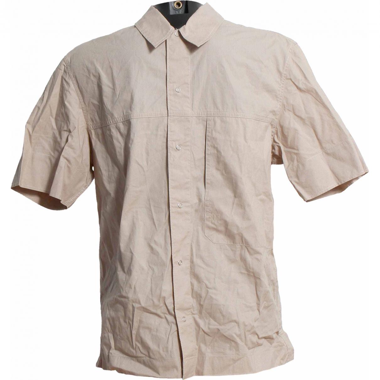 Levis - Chemises   pour homme en coton - beige