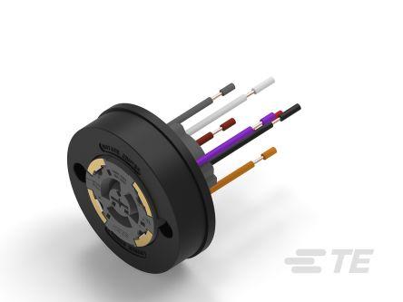 TE Connectivity Lighting Socket, 30 (Dimming) V ac/dc, 480 (Power) V ac/dc (100)