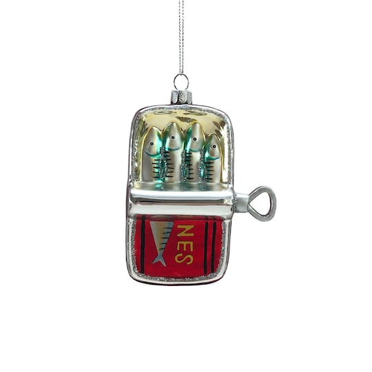 Glass Canned Fish Ornament By Ashland® | Michaels®