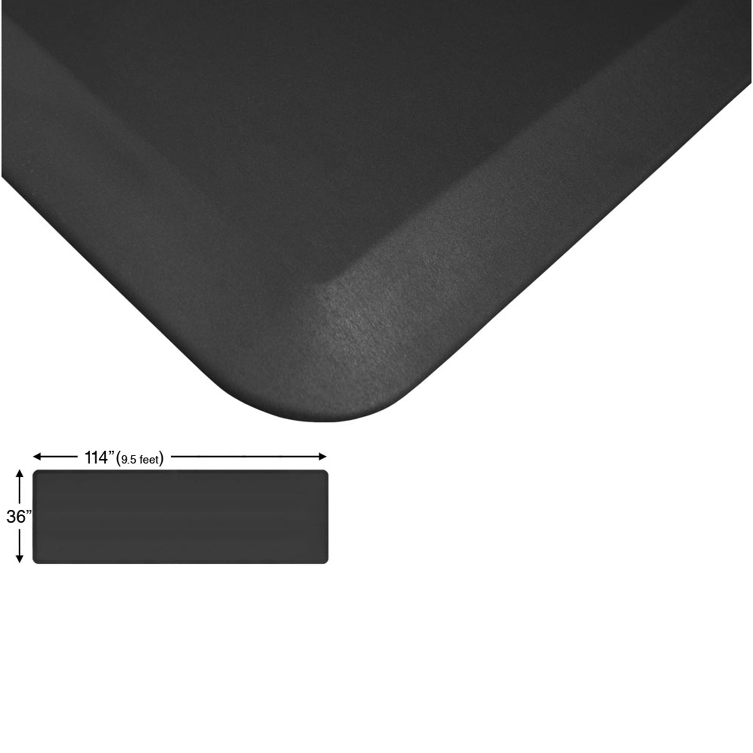 Eco-Pro Continuous Comfort Mat, Black, 36