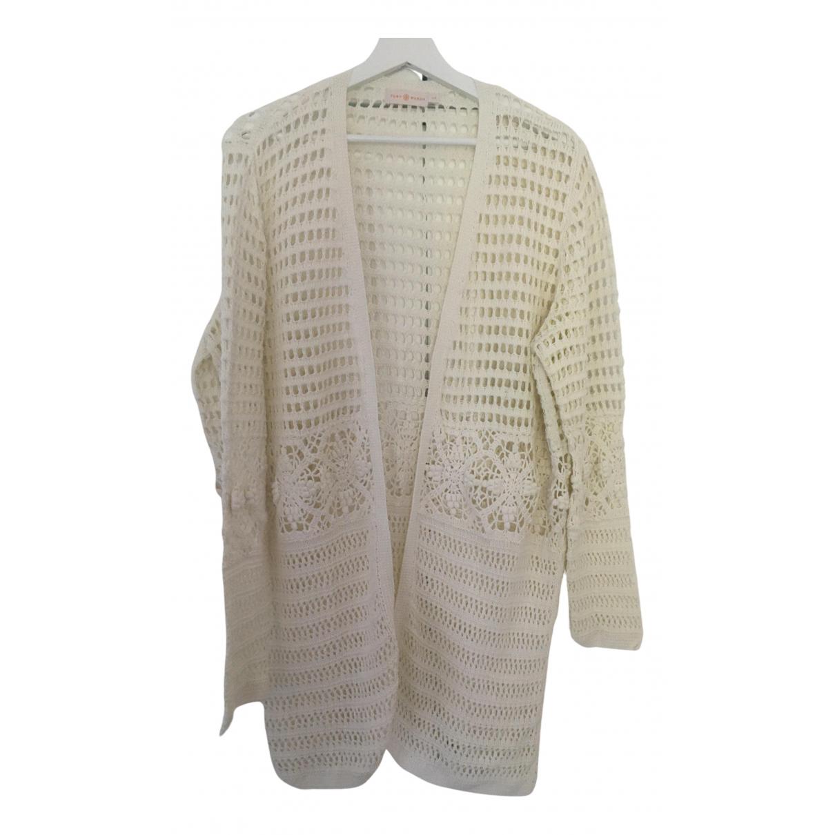 Tory Burch \N Ecru Cotton Knitwear for Women L International