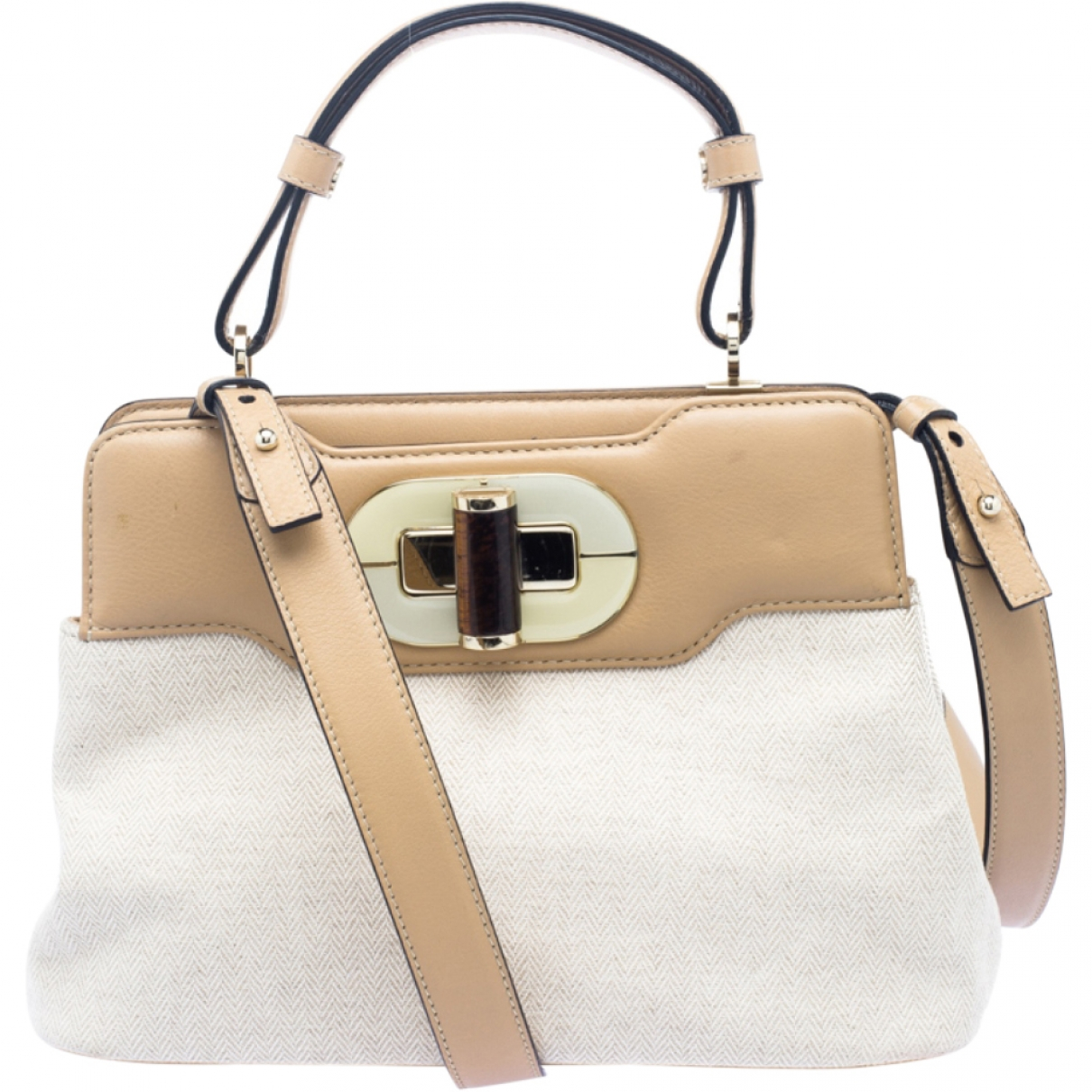 Bvlgari Rossellini Beige Leather handbag for Women \N
