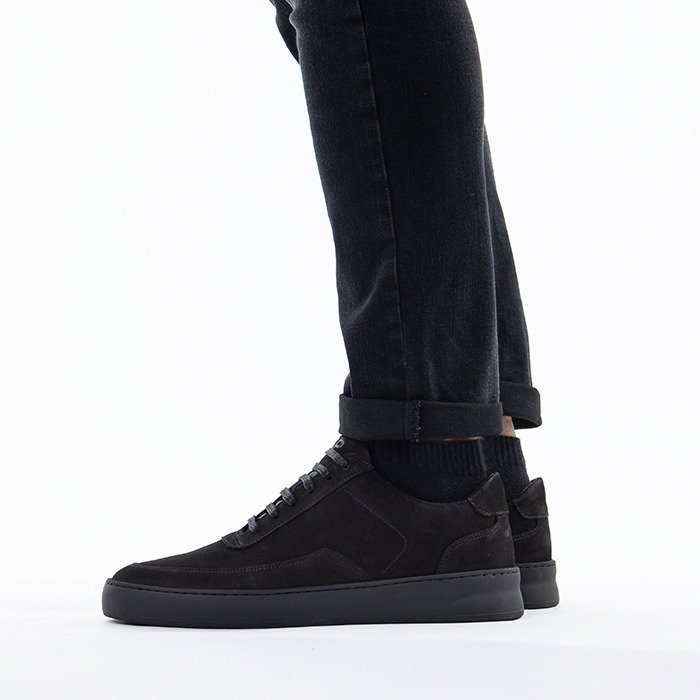 Filling Pieces Low Mondo Plain Nardo Nubuck 33021911847