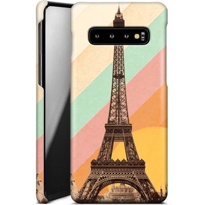 Samsung Galaxy S10 Smartphone Huelle - Eiffel Tower Rainbow von Florent Bodart