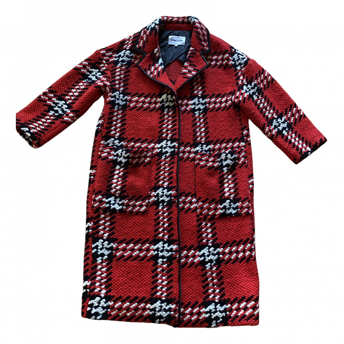 Bimba Y Lola N Red coat for Women 40 FR