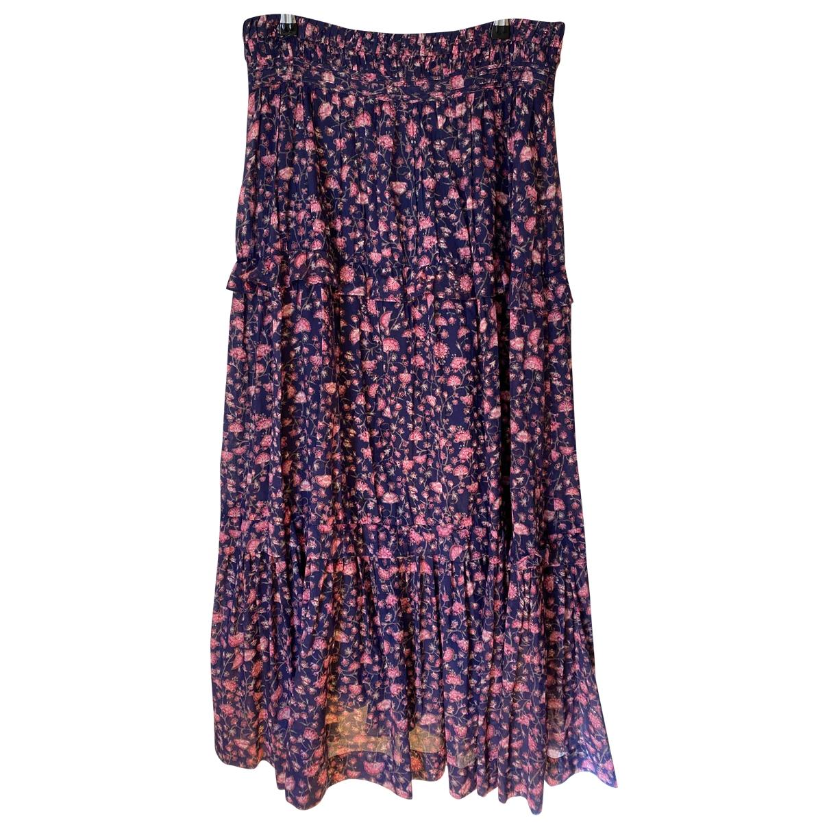 Isabel Marant Etoile \N Navy Cotton skirt for Women 40 FR