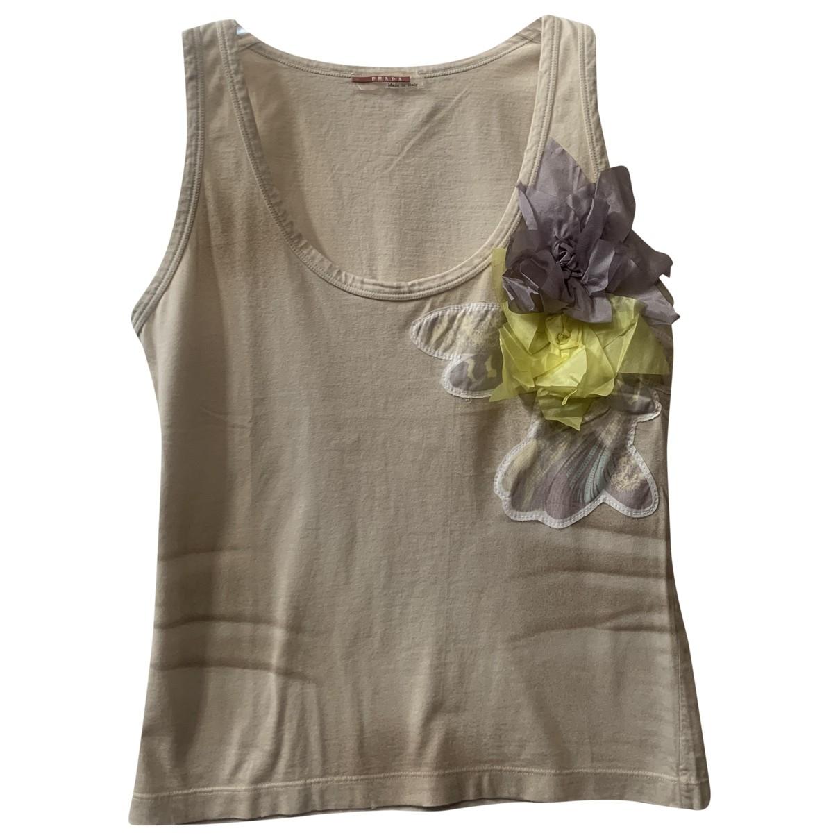 Camiseta sin mangas Prada