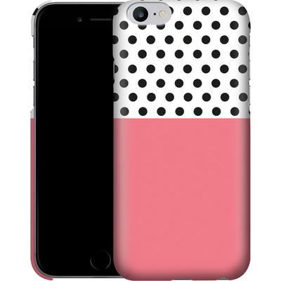 Apple iPhone 6s Plus Smartphone Huelle - Coral Dots von caseable Designs