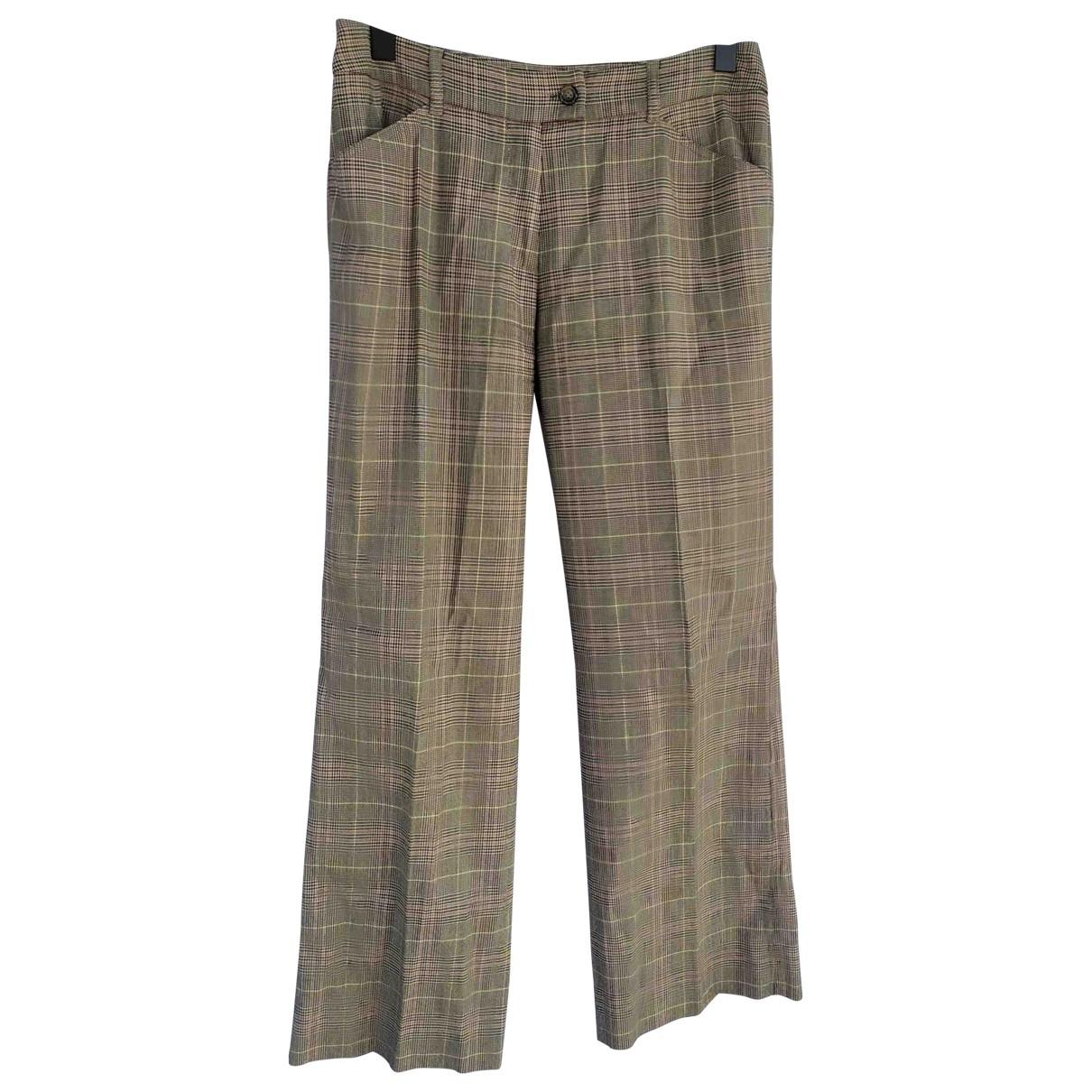 Max Mara Weekend \N Multicolour Wool Trousers for Women 42 FR