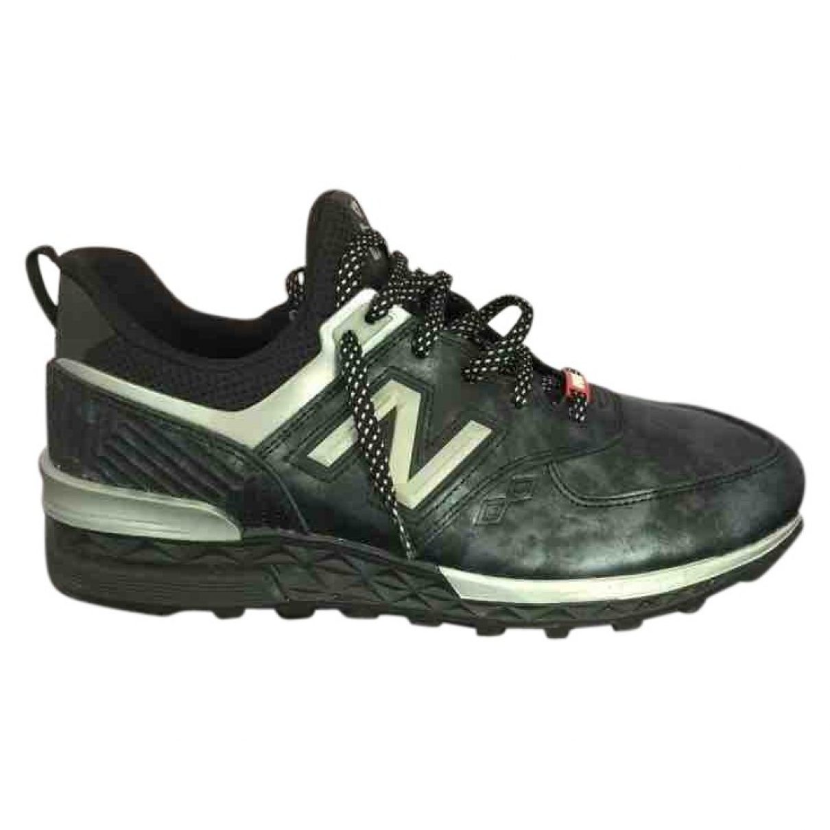New Balance \N Black Leather Trainers for Men 44 EU
