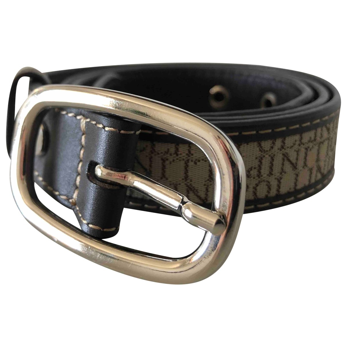 Pollini \N Brown Leather belt for Women S International