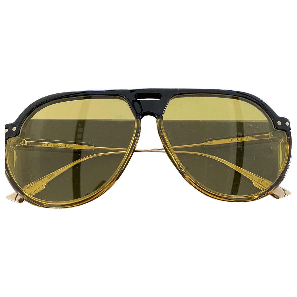 Dior Dior club 3 Yellow Sunglasses for Women \N