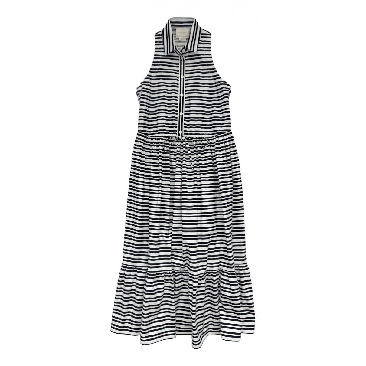 Kate Spade \N Kleid in  Weiss Baumwolle - Elasthan