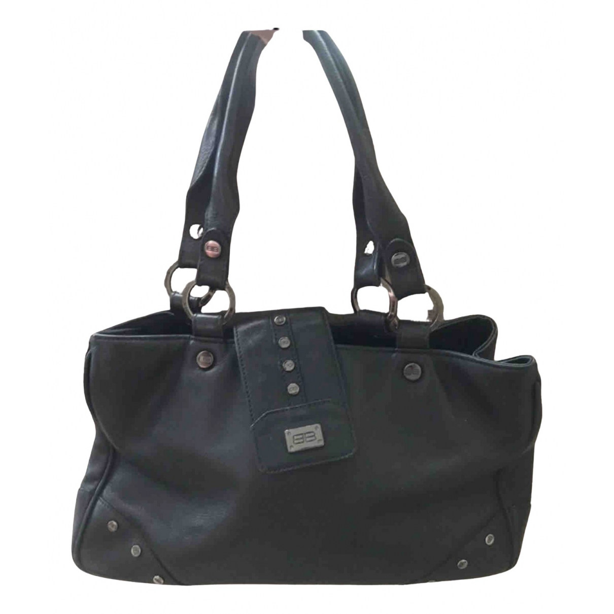 Balenciaga \N Handtasche in  Schwarz Fell