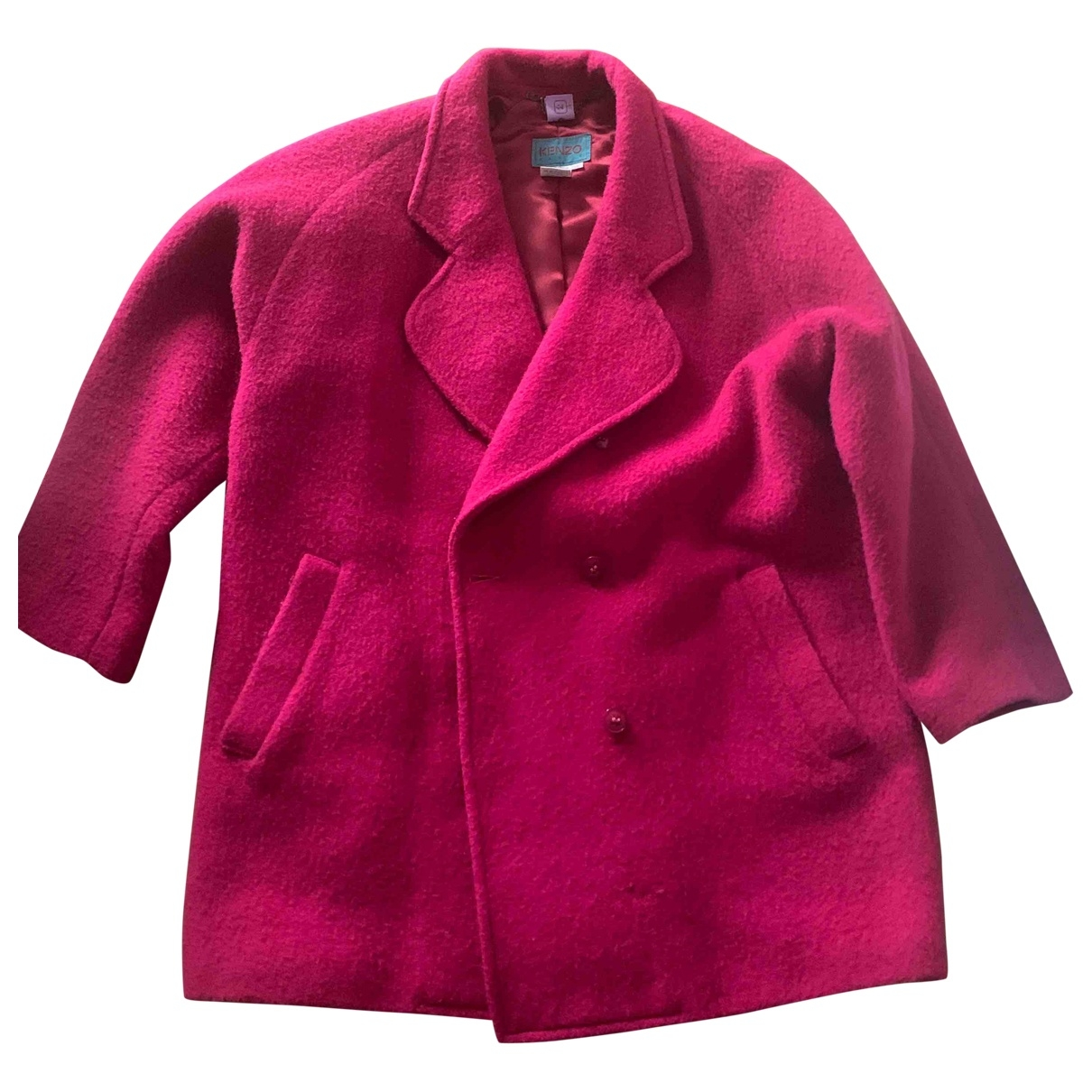 Kenzo \N Pink Wool jacket for Women 0 0-5