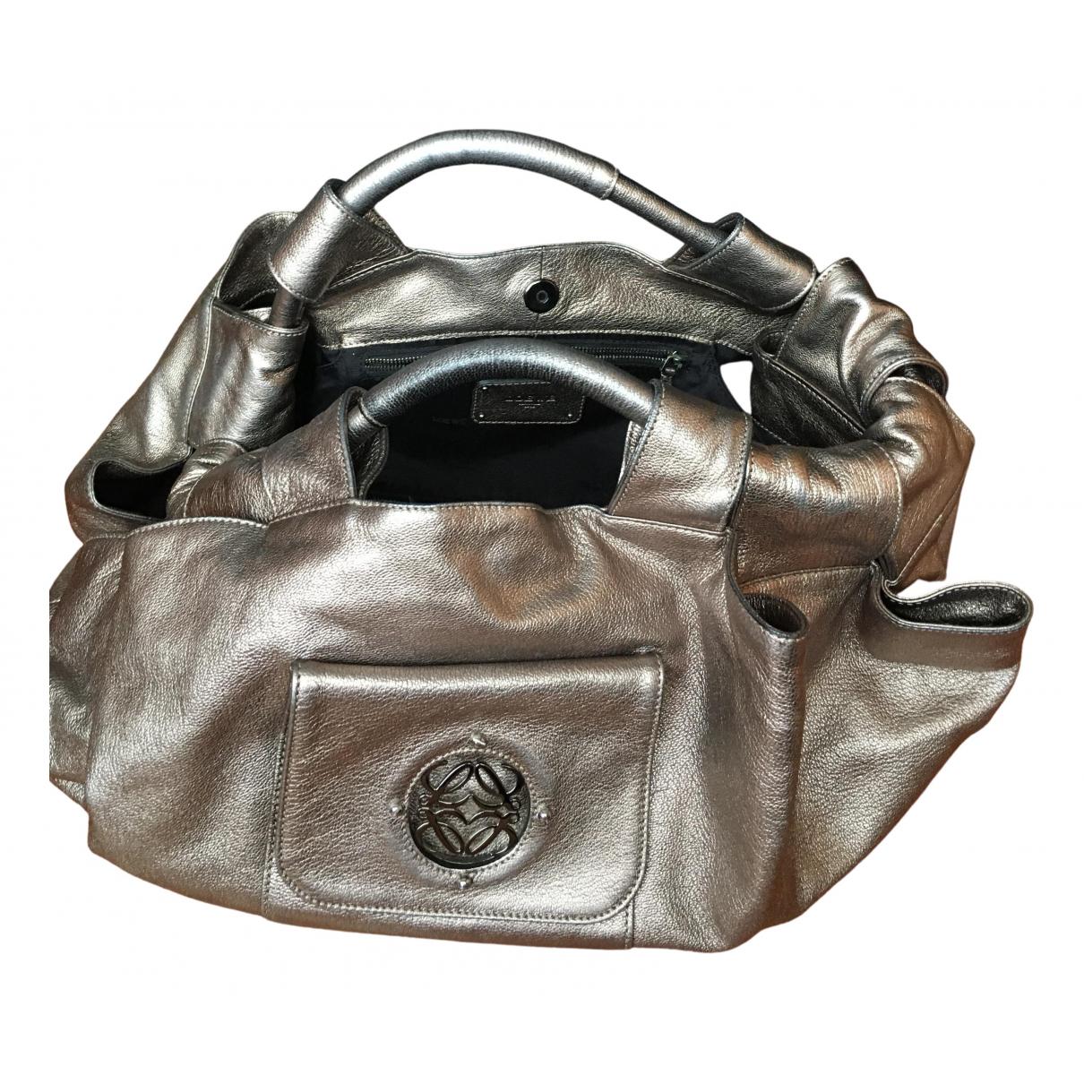 Loewe N Metallic Leather handbag for Women N