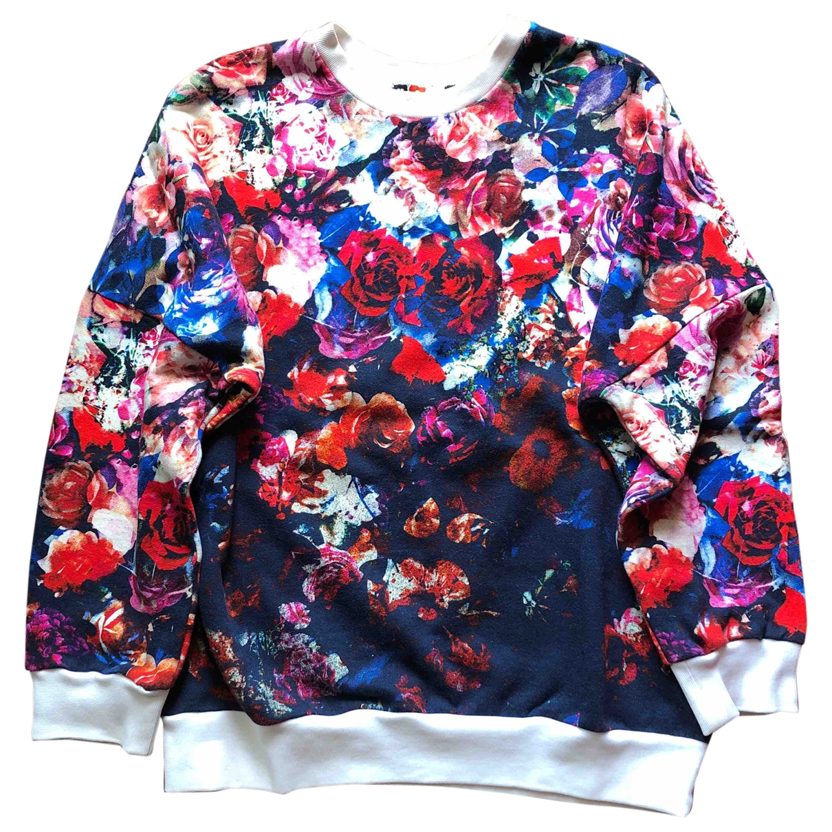Msgm \N Pullover in  Bunt Baumwolle