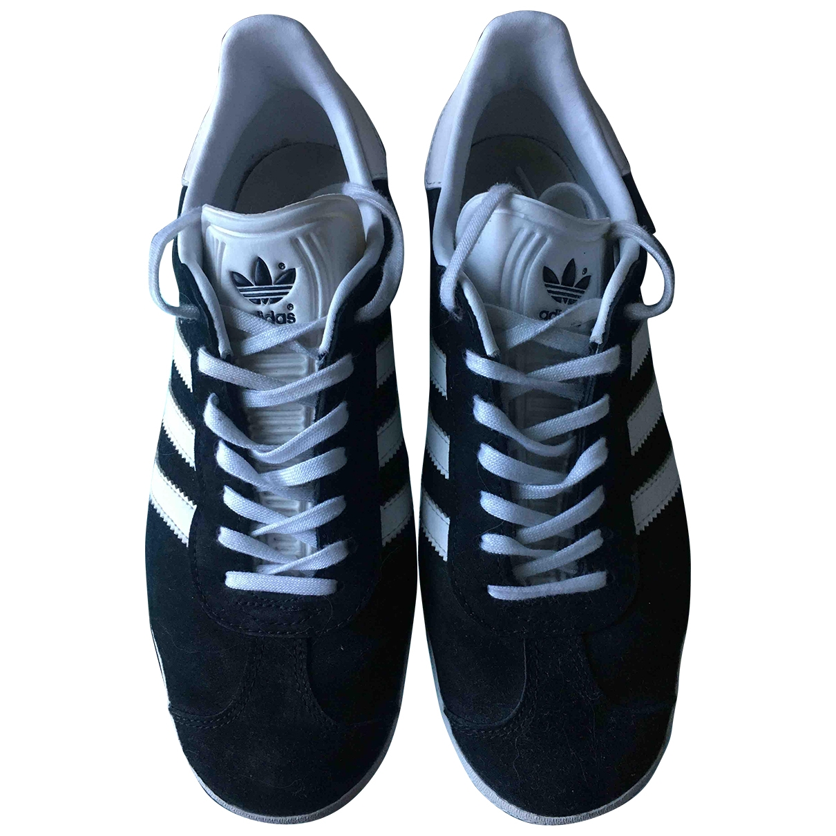 Adidas Gazelle Black Suede Trainers for Women 38.5 EU