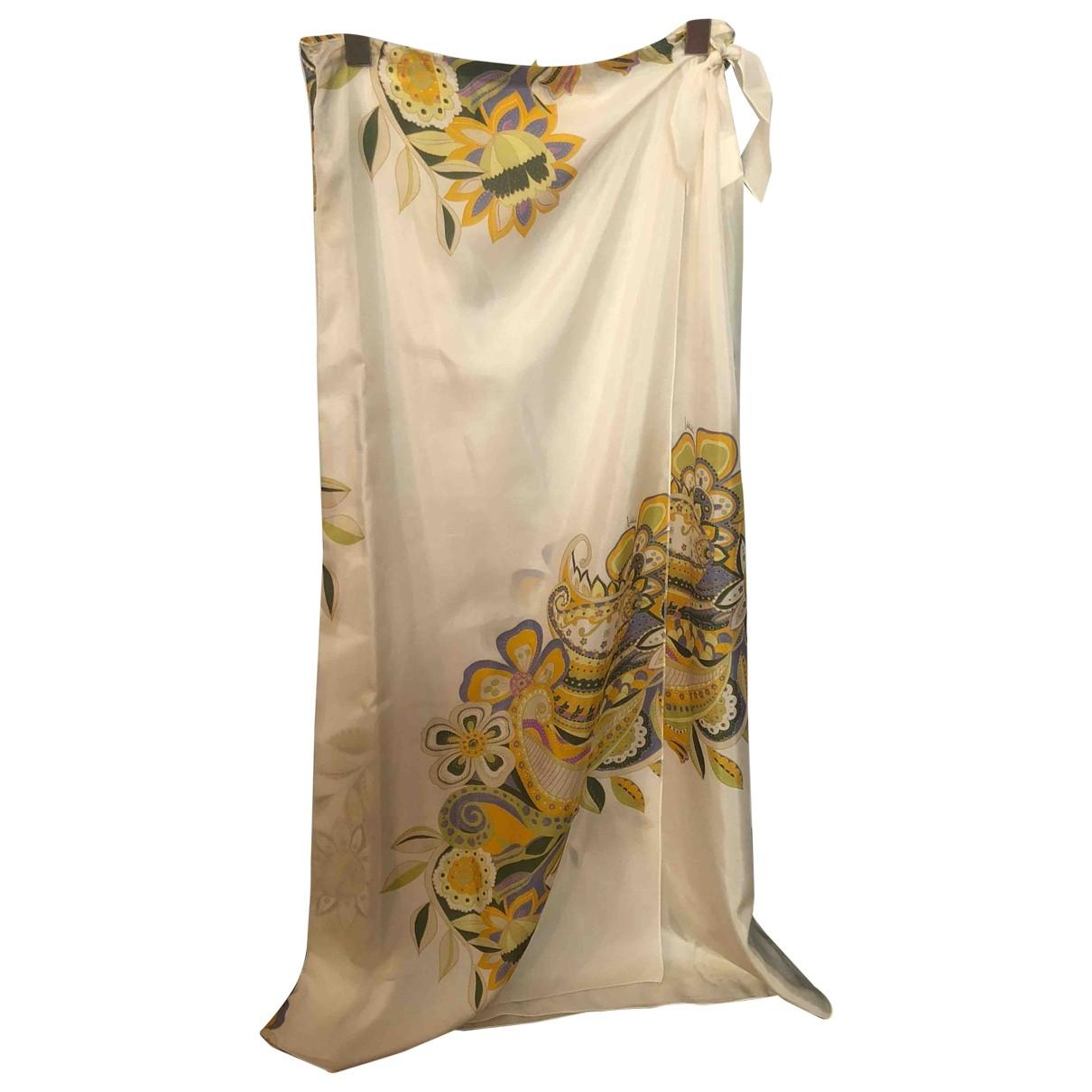 Falda maxi de Seda Valentino Garavani