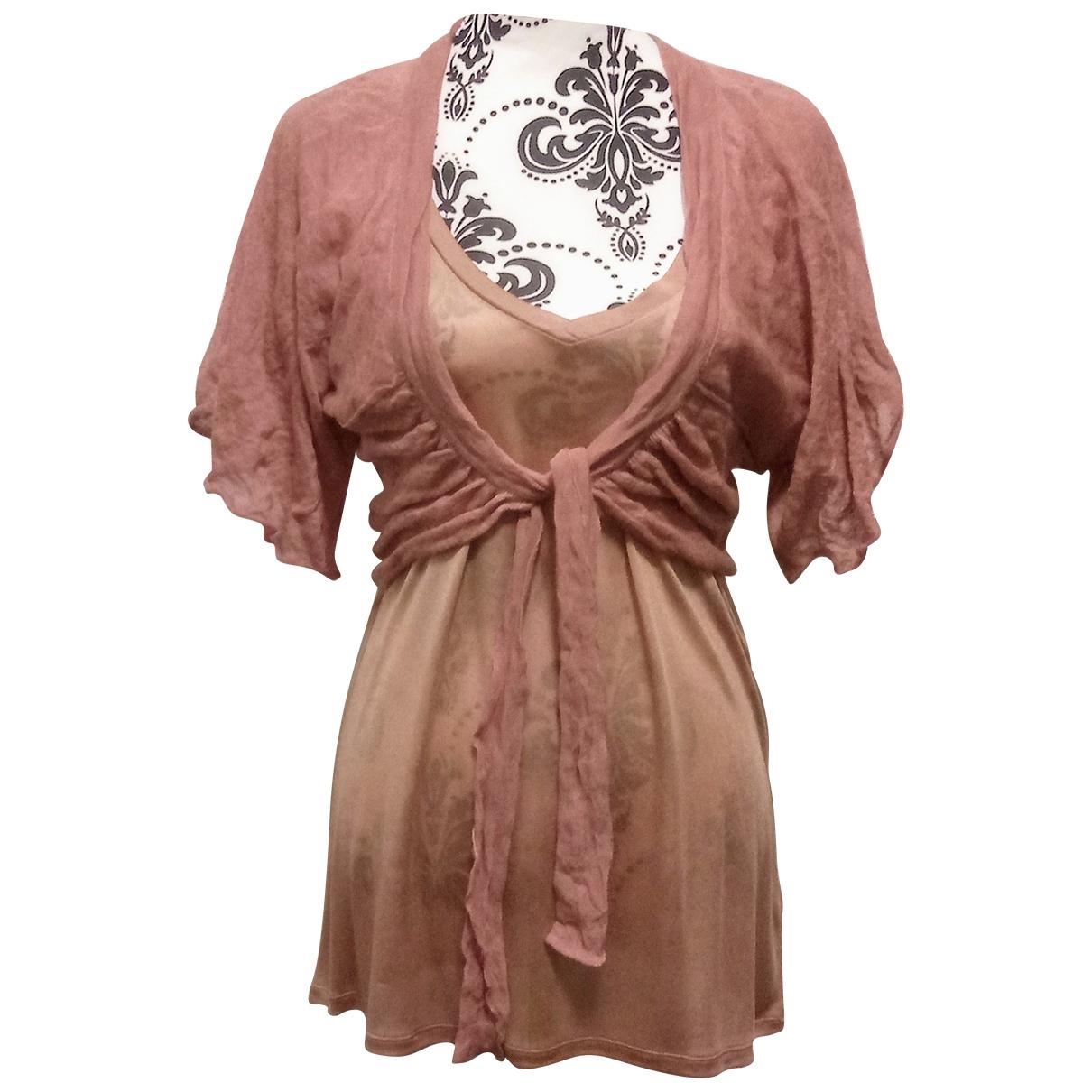 Falconeri \N Orange Silk  top for Women M International