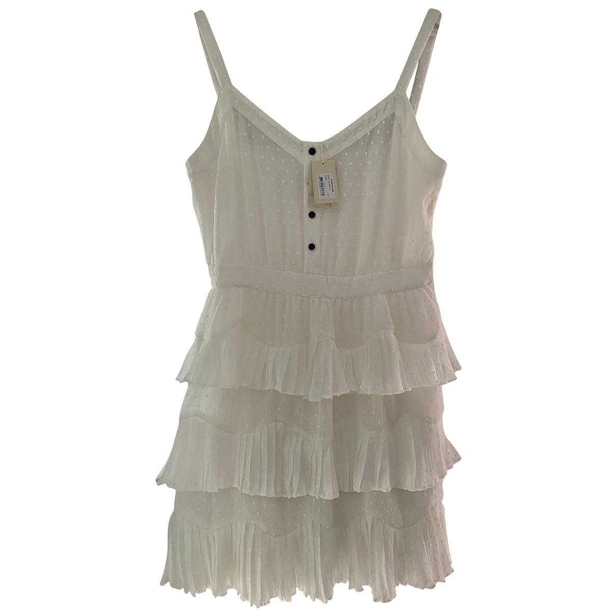 Maje Spring Summer 2019 White dress for Women 40 FR