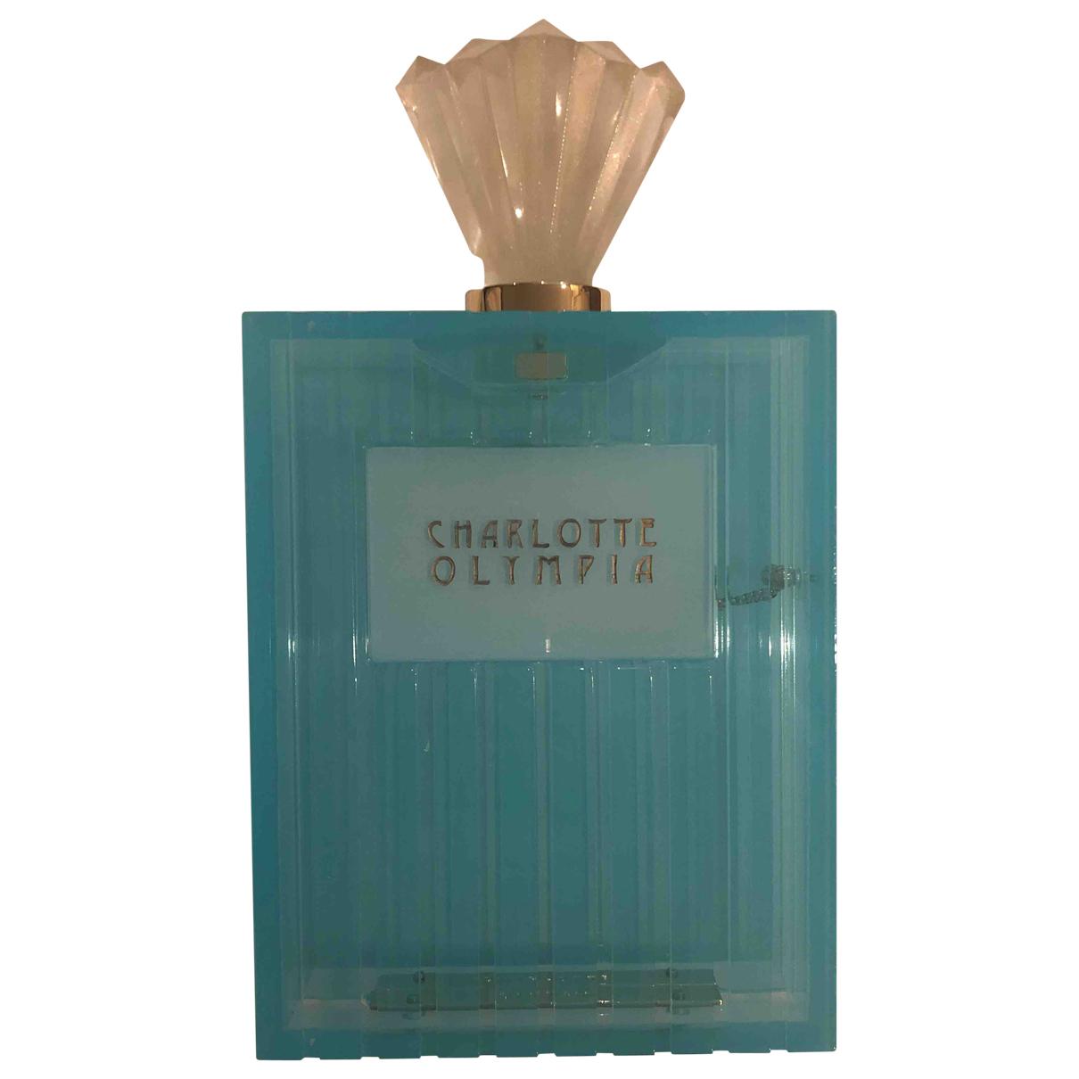 Charlotte Olympia \N Clutch in  Blau Kunststoff