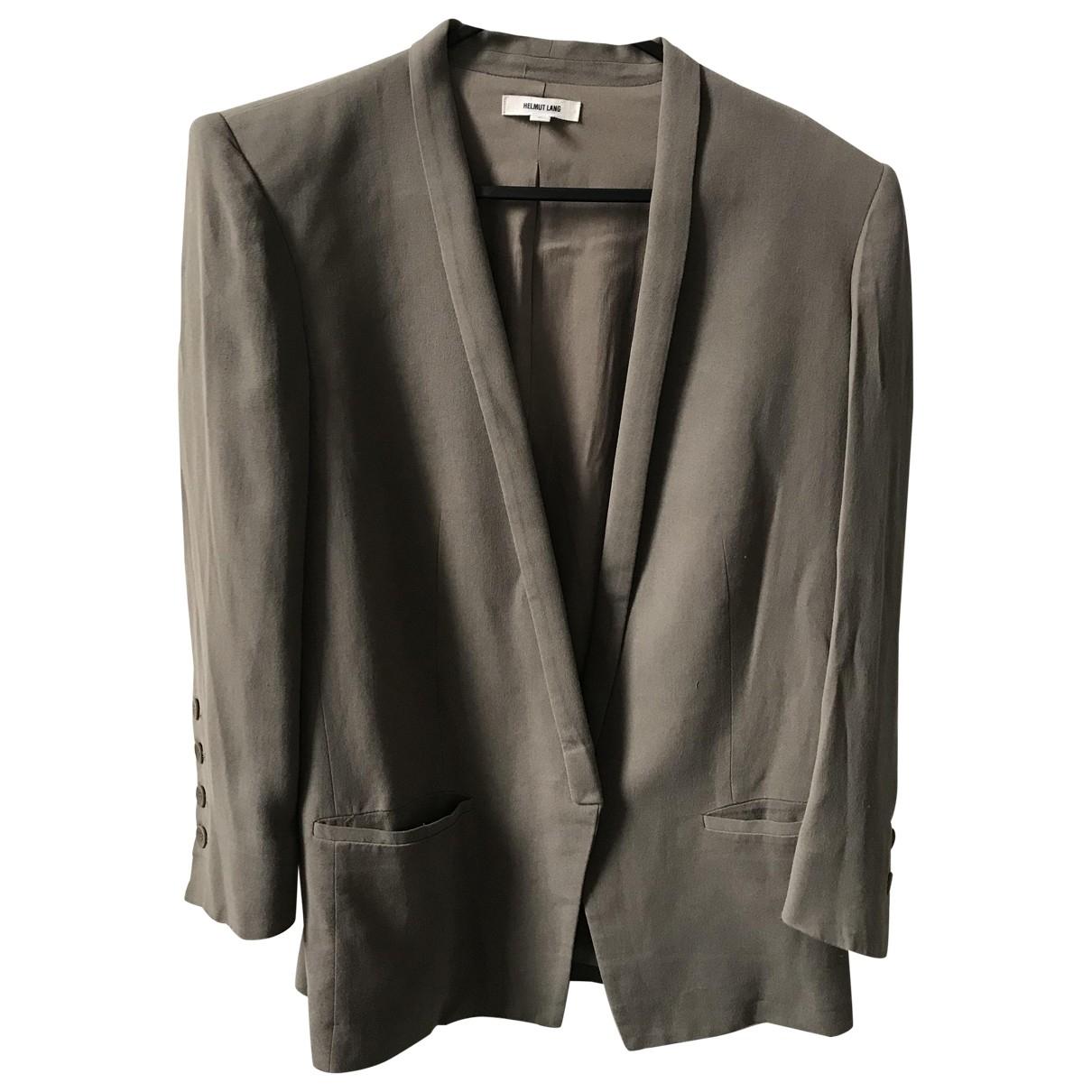 Helmut Lang \N Green jacket for Women 1 US