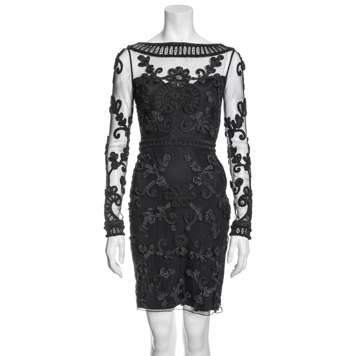 Temperley London \N Kleid in  Schwarz Synthetik