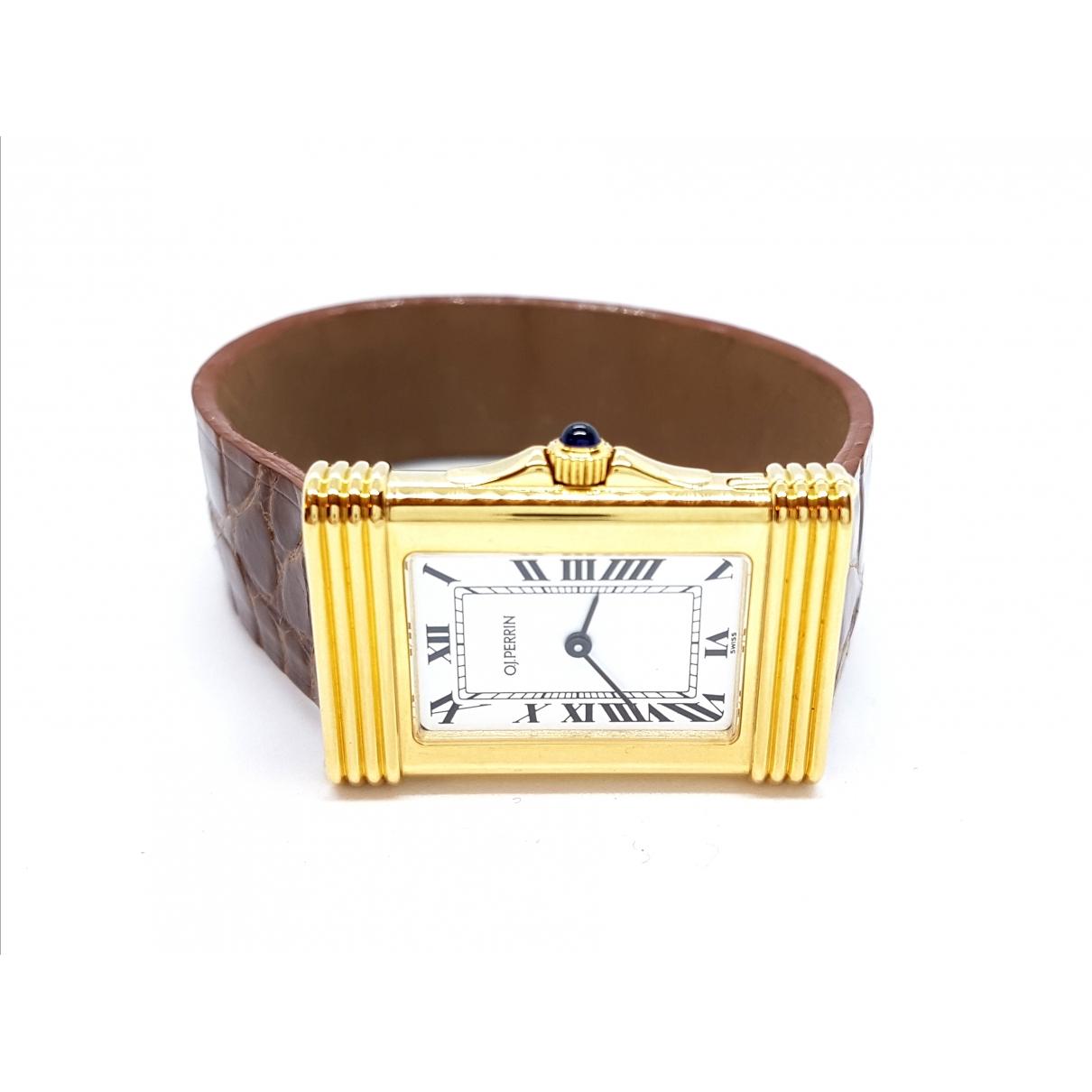 Reloj de Oro amarillo O.j. Perrin