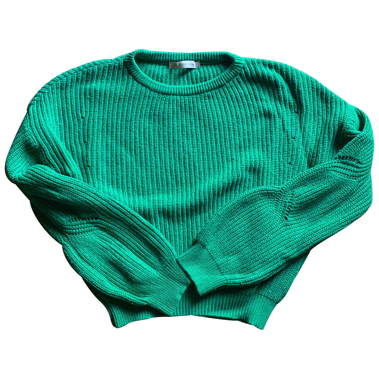 Non Signé / Unsigned \N Green Cotton Knitwear for Women S International