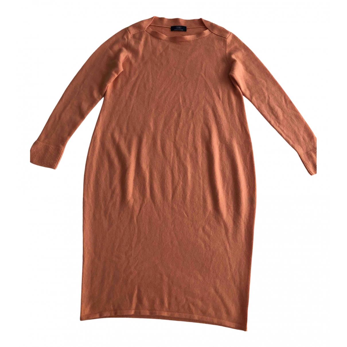 Non Signe / Unsigned \N Kleid in  Orange Kaschmir