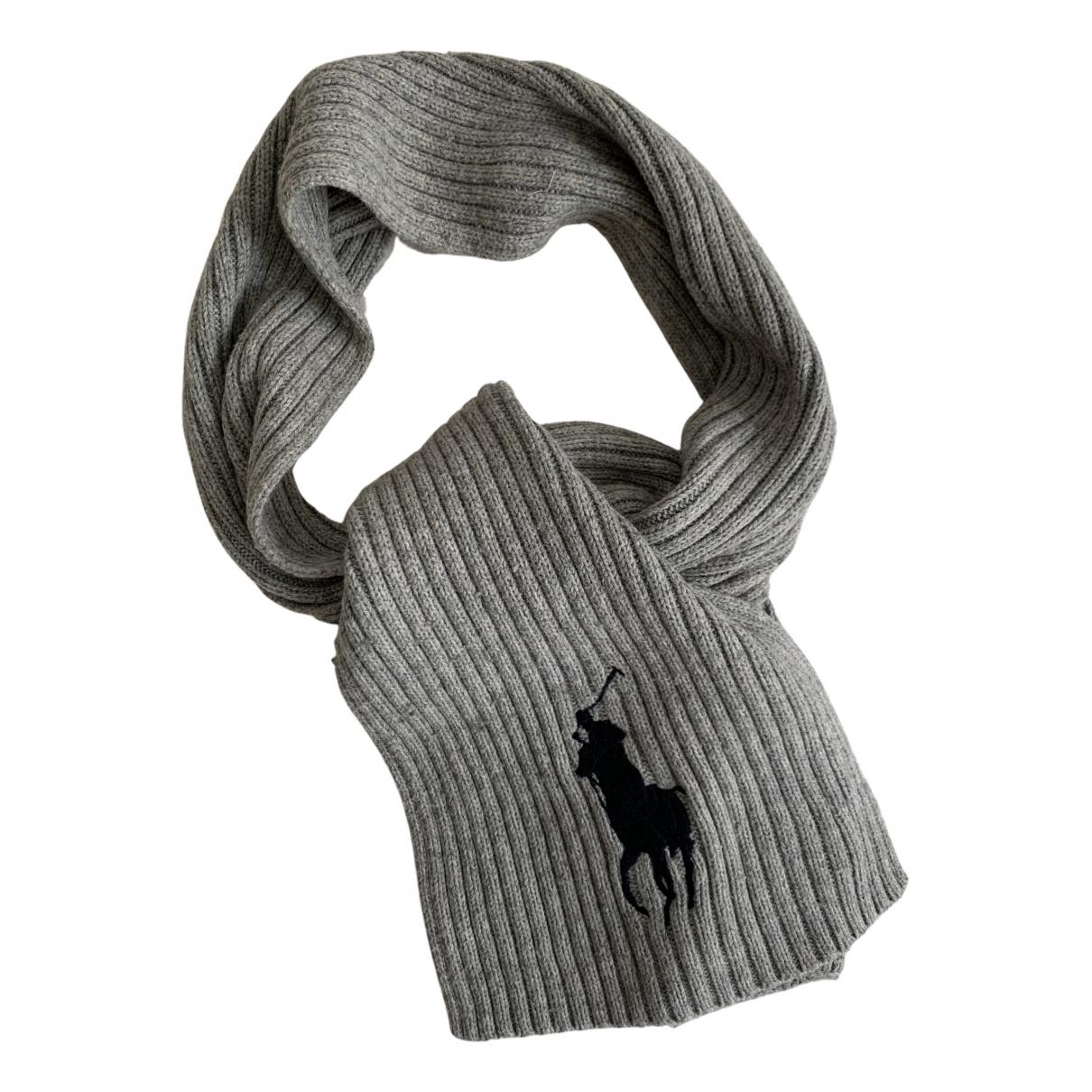 Polo Ralph Lauren - Cheches.Echarpes   pour homme en coton - gris