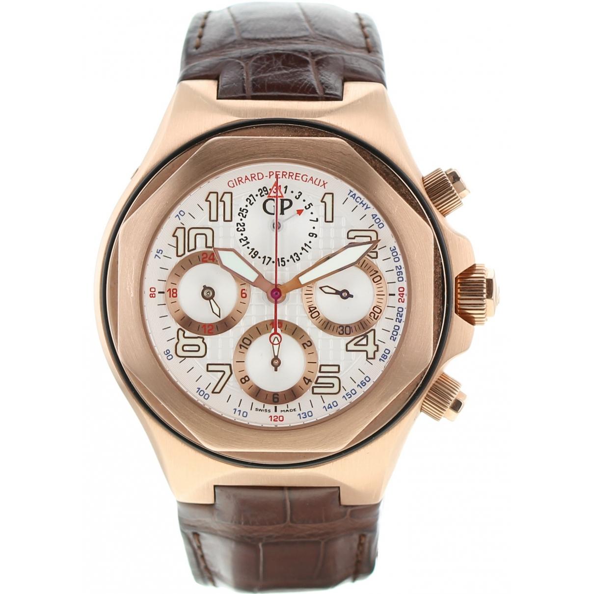Girard Perregaux \N Pink gold watch for Men \N