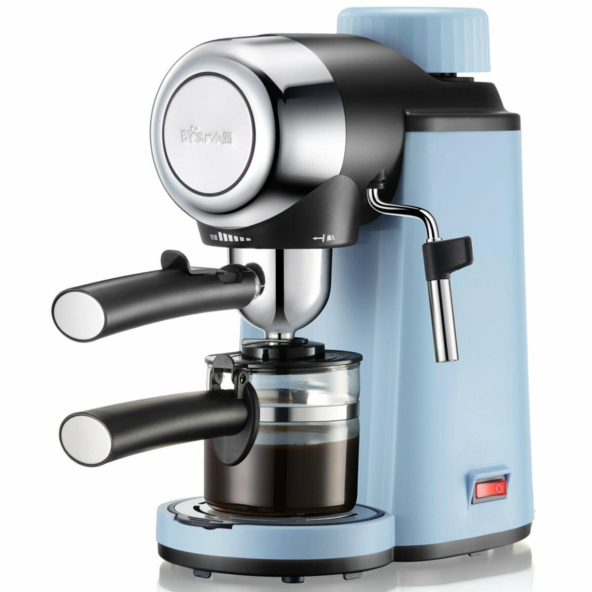 5 Bar 800W Coffee Machine Espresso Cappuccino Latte Drink Maker Milk Steamer