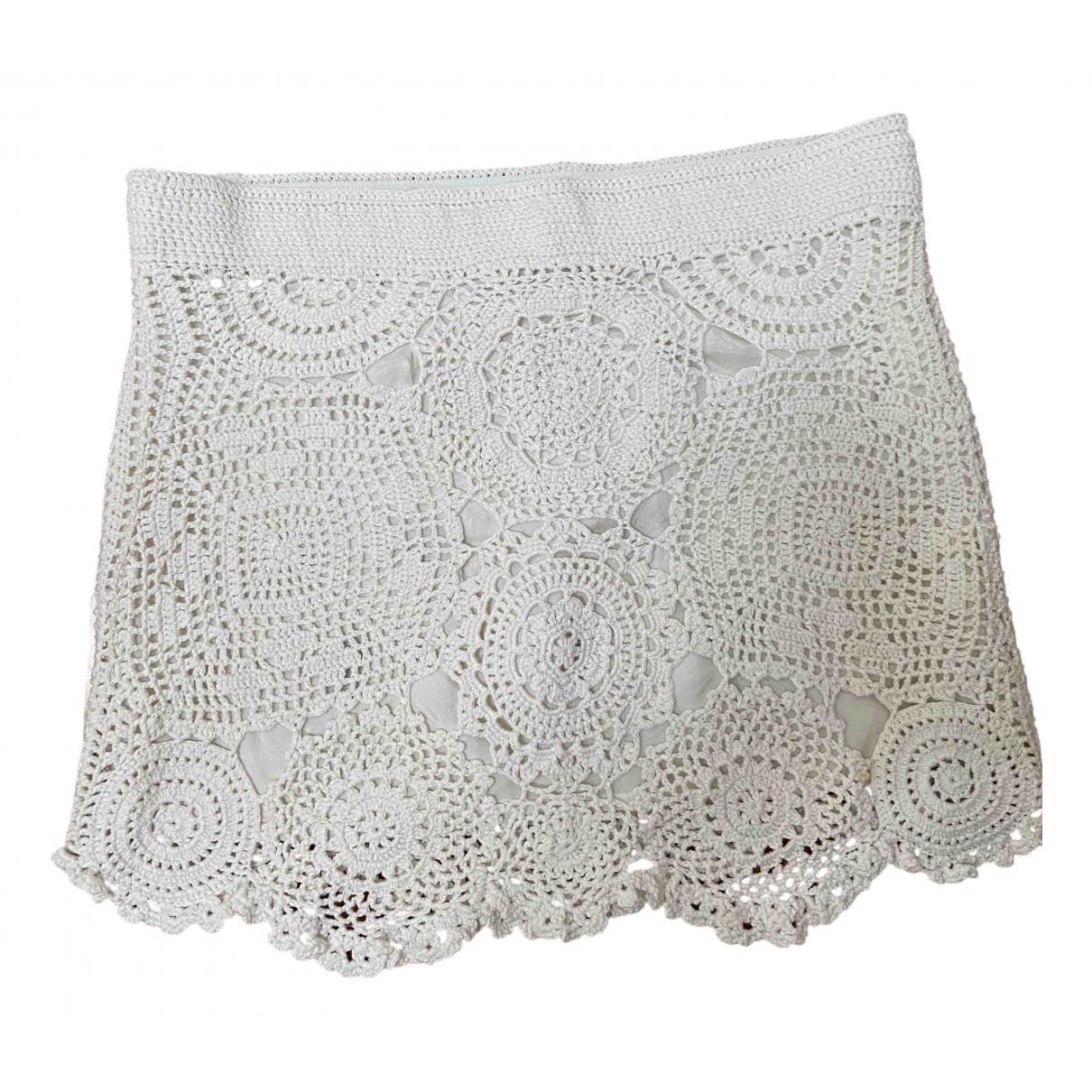 Stefanel - Jupe   pour femme en coton